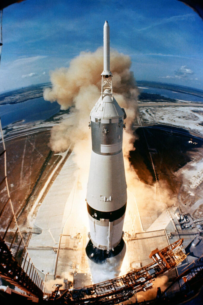 apollo 11 lift off