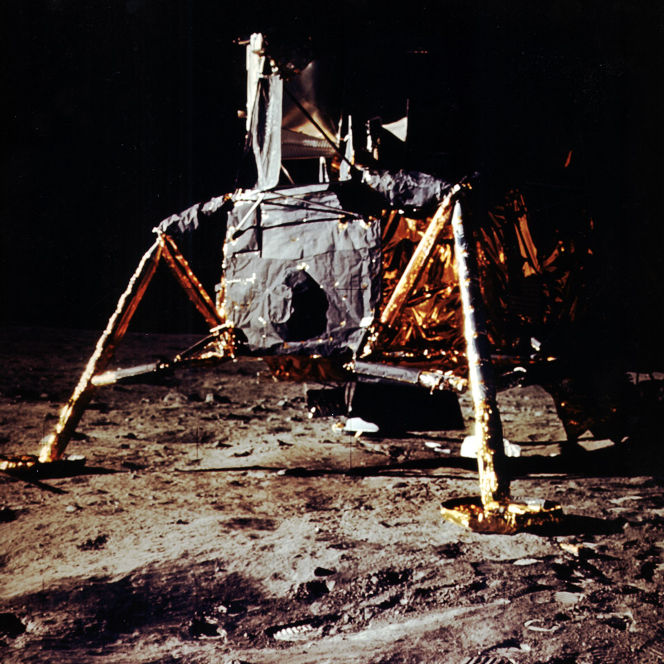 Apollo 11 - first manned moon landing
